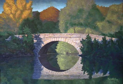Stone Arch Bridge over Dry Creek
