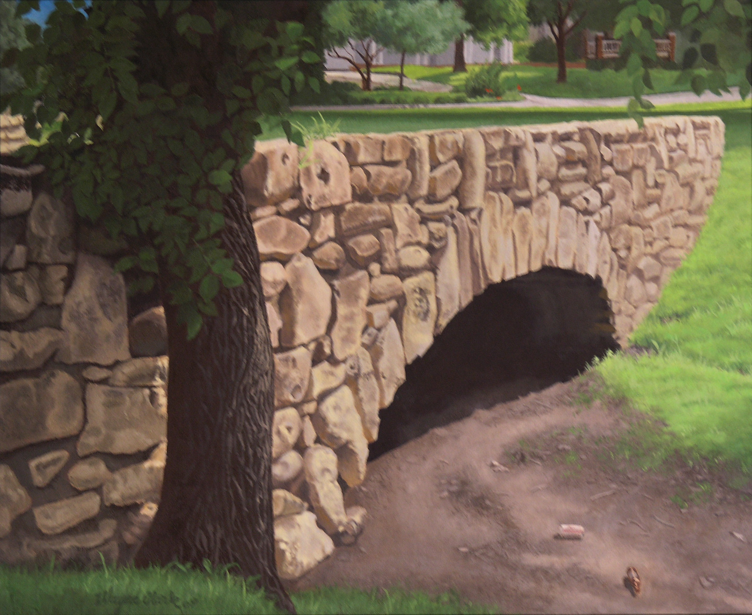 Sleepy Hollow Bridge to Nowhere