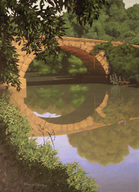 Stone Arch Bridge over Hickory Creek