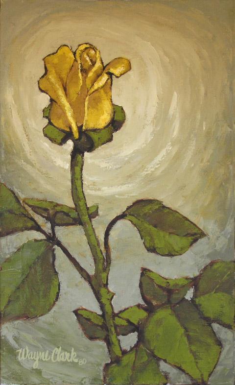 Yellow Rose Bud