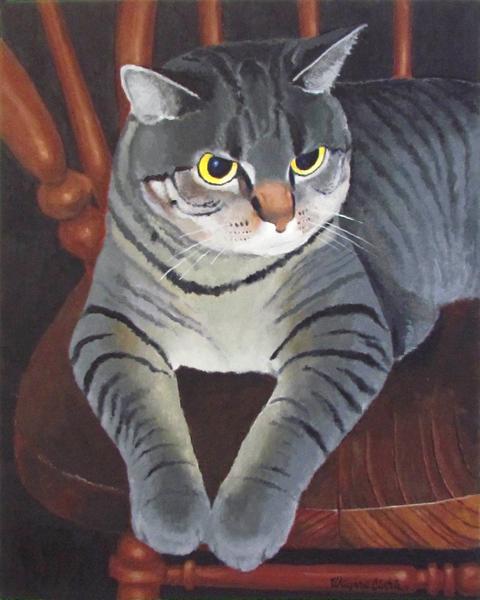 Muzby The Owl Eyed Cat
