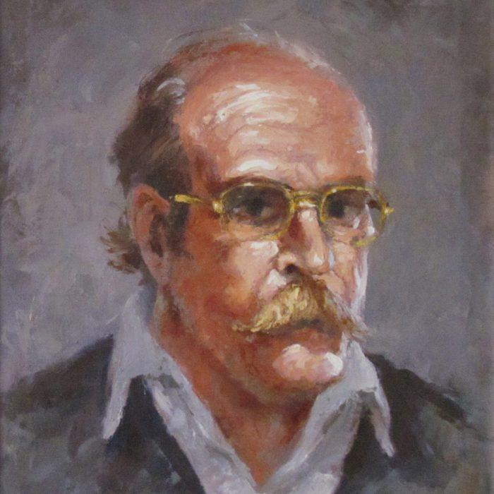 Self-portrait at 52