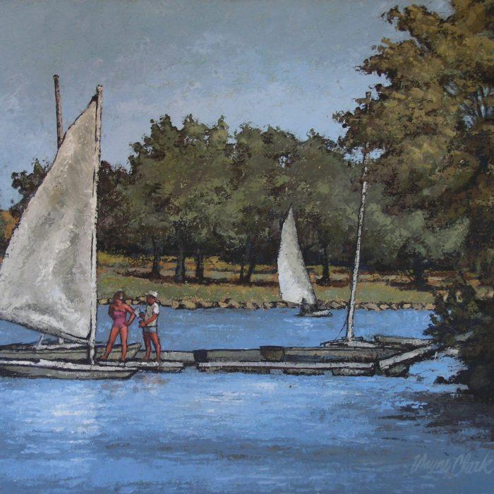 Boat Docks at Santa Fe Lake